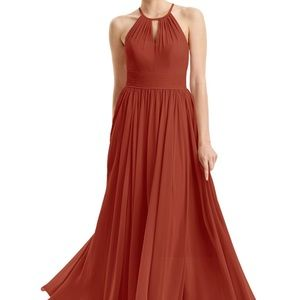 Dresses & Skirts - Azazie Cherish Rust Bridesmaid Dress